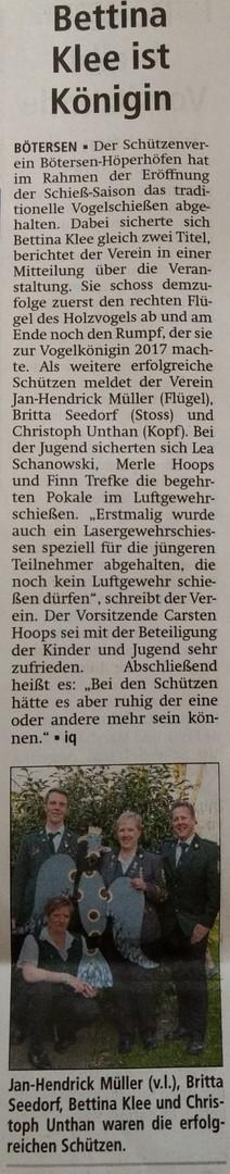 Anschiessen Kreiszeitung